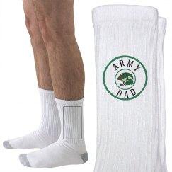Army dad socks