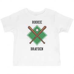 Rookie baseball player