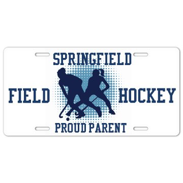 Field Hockey Plate