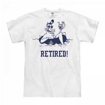 Finally Retired