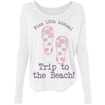Finn Family  Beach Trip