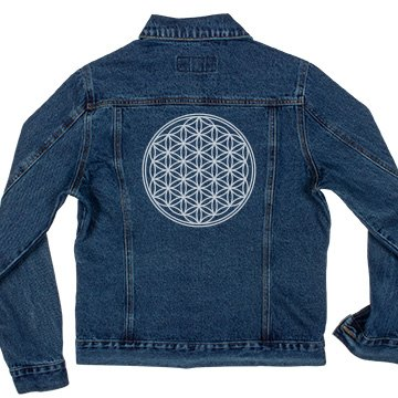 Flower Of Life Solid White