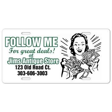 Follow Me Plate