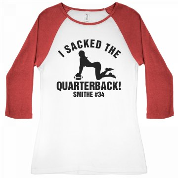 Football Girlfriend Sack