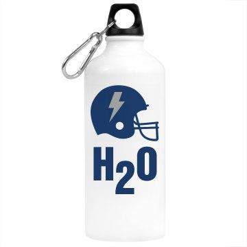 Football H20 Bottle