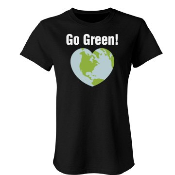 Go Green Heart Tee