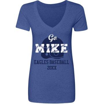 Go Mike Baseball Fan