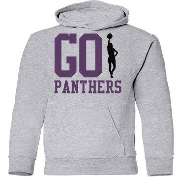 Go Panthers Cheerleader