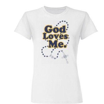 God Loves Me Beads