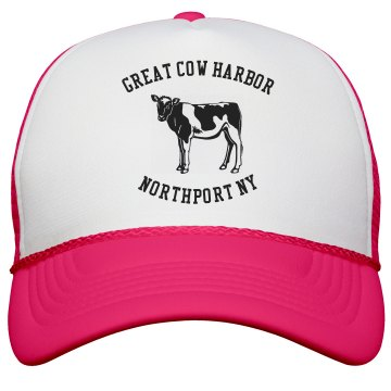 Great Cow Harbor Neon Hat