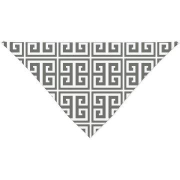 Greek Key Pattern Bandana