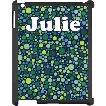 Green Dots iPad Case