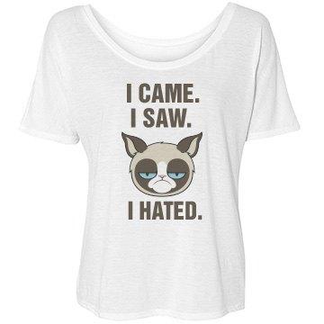 Grumpy Cat I Hated