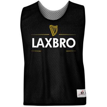 Guinness Lax Bro Lacrosse Pinnie
