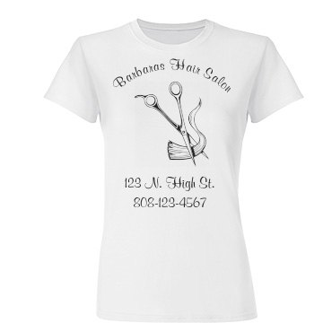 Hair Salon Business Tee