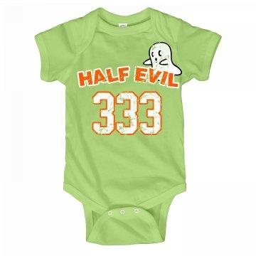 Half Evil Onesie