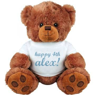 Happy 4th Alex Bear
