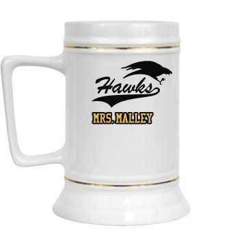 Hawks Teacher Mug