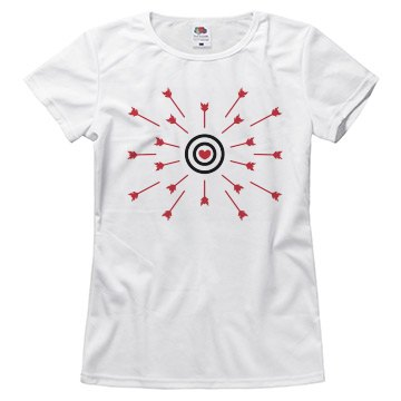 Heart Bullseye and Arrows