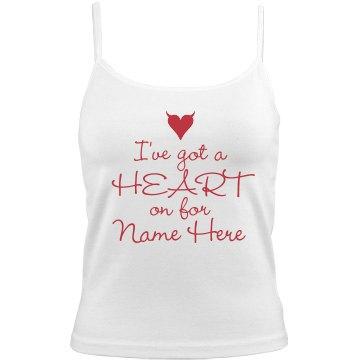 Heart On Valentine