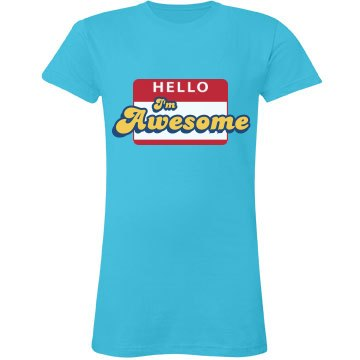 Hello, I'm Awesome