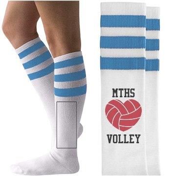 High School Volley Fan