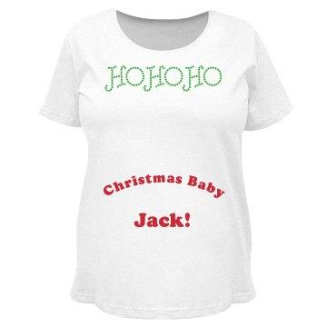 Ho Ho Ho Christmas Baby