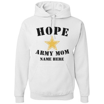 Hopeful Army Mom