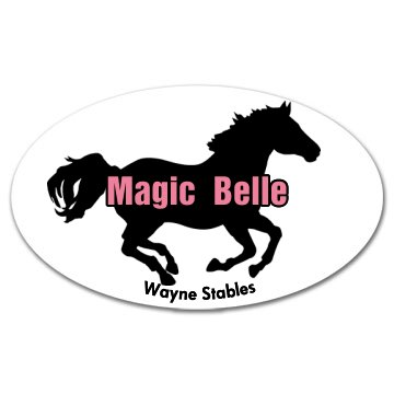 Horse Stable Sticker
