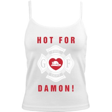 Hot for Firefighter Damon