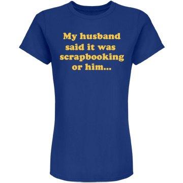 Husband Scrapbook w/ Back