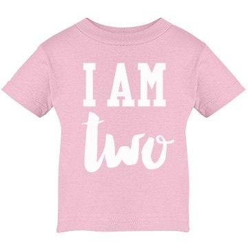 I Am Two! Birthday Shirt