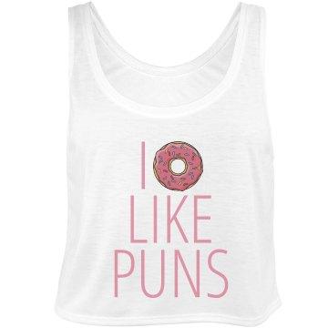 I Donut Like Puns