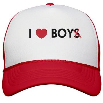 I Heart Boy Hat