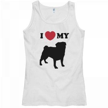 I Heart My Pug