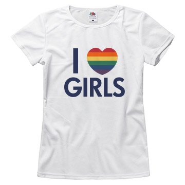 I Love Girls Rainbow