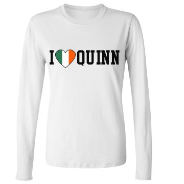 I Love Irish Heart