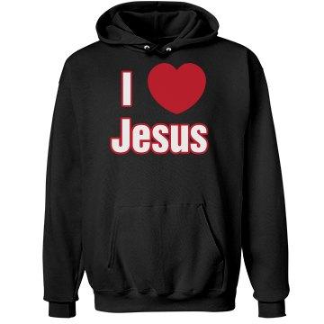 I Love Jesus Hoodie
