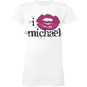 I Love Michael Kiss