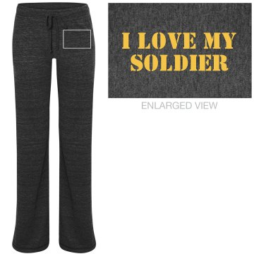 I Love My Soldier PJs