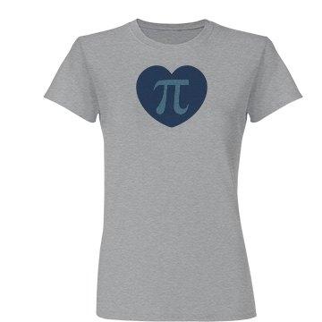I Love Pi 3.14 Blue Theme