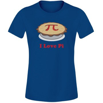I Love Pi Pie