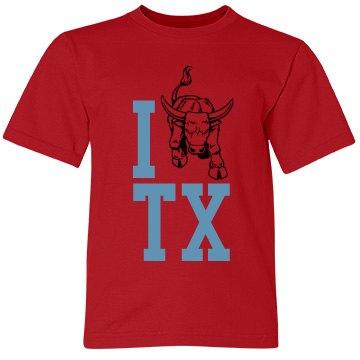 I Love Texas Youth Tee