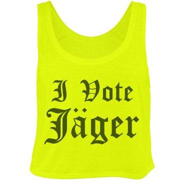 I Vote Jagermeister!