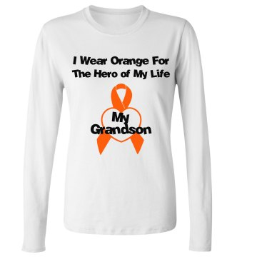 I Wear Orange For My Hero