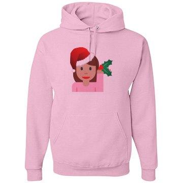 info girl christmas emoji