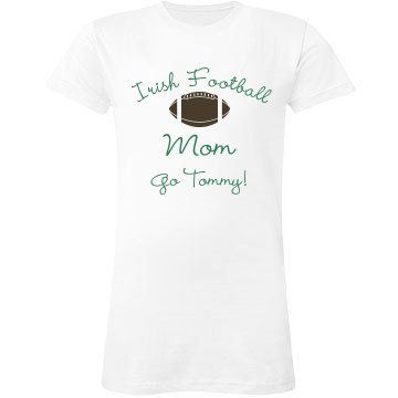 Irish Football Mom
