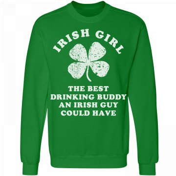 Irish Girl Drinking Buddy