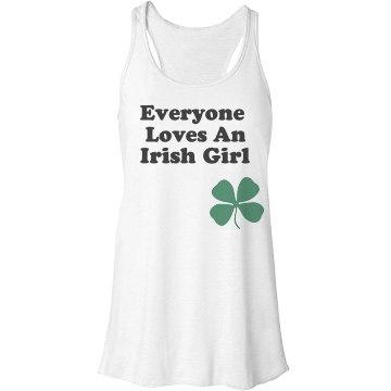 Irish Girl Shamrock