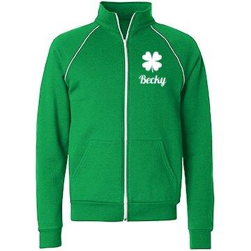 Irish Pride Custom Name Jacket